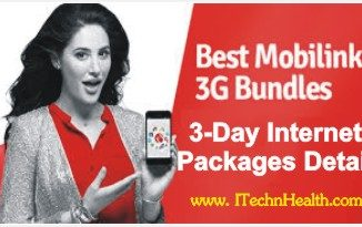 Mobilink 3 days Internet Packages Detail