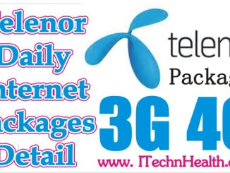 Telenor Daily Internet Packages Detail