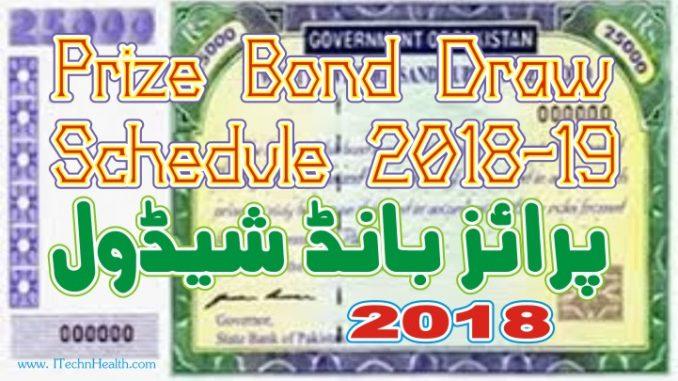 prize bond schedule 2018 pdf