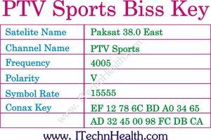 Paksat Biss Channels Working Keys-PTV Sports Biss Key 2018