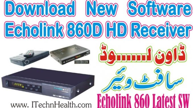 Download Echolink 860D HD Receiver New PowerVU Key Software 2018