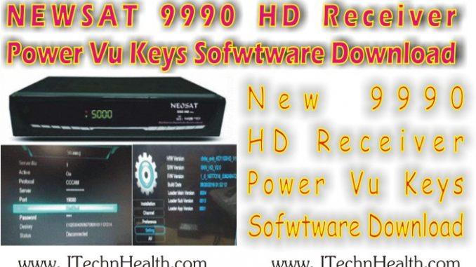 NEWSAT 9990 Receiver Software