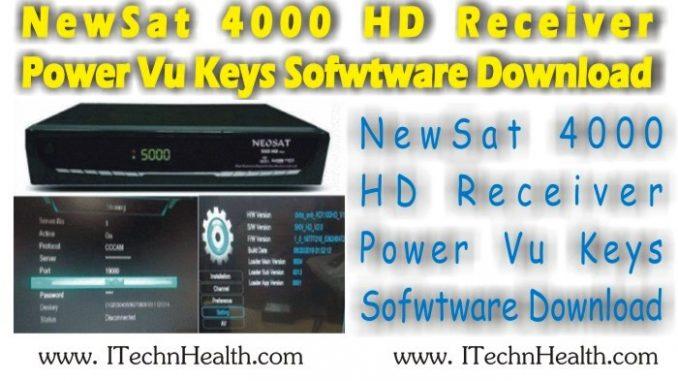 NewSat 4000 HD Receiver Software Download - iTechnHealth com