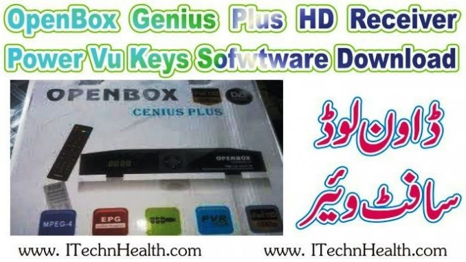 OpenBox Genius Plus HD Receiver New Software