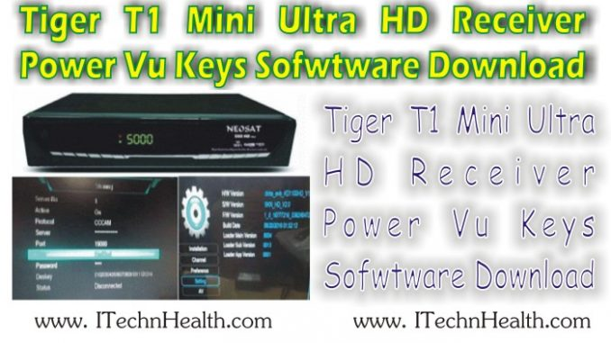Tiger T1 Mini Ultra Receiver