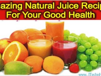 Amazing Natural Juice Recipes For Good Health
