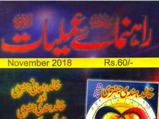 Download Rahnumayeh-e-Amliyaat November 2018
