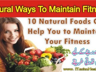 Natural Ways To Maintain Fitness