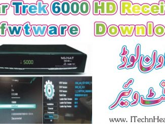Star Trek 6000 HD Receiver Software 2018 Download