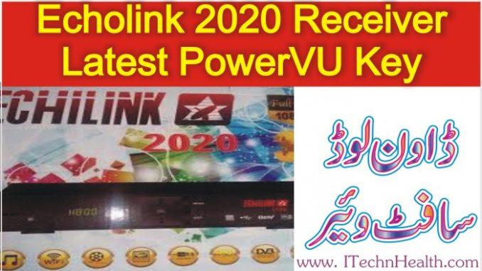 Echolink 2020 HD Receiver latest PowerVU Auto Roll Key