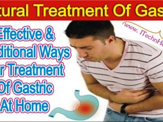 Effective And Traditional Way For Treatment Of Gastric At Home