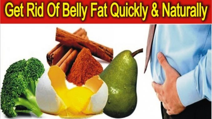 Get Rid Of Belly Fat Quickly