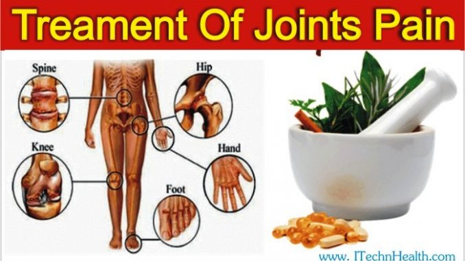 Herbal Treatment Of Joints Or Muscles Pain