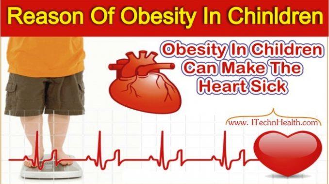 Main Reason Of Obesity In Children
