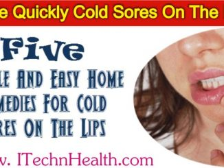 Remedies For Cold Sores On The Lips