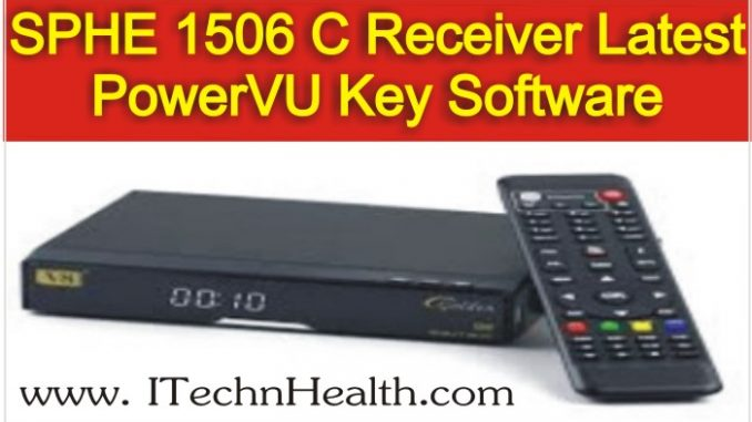 SPHE_1506C_HD_Receiver_Latest_PowerVU_Key_Software_2018