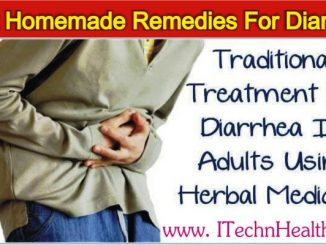 Traditional Treatment Of Diarrhea Using Herbal Medicine