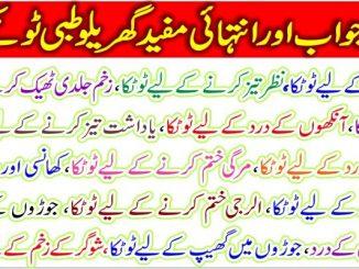 Bemarion K Ilaj K Lehe Best Garilo Desi Totaky In Urdu Language