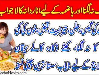 Bhook Na Lagna Bhook Ki Kami Ka Ilaj In Urdu