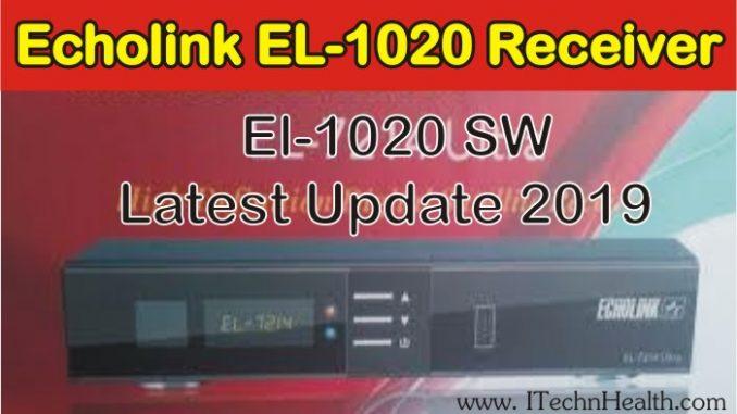 Echolink EL-1020 HD Receiver New PowerVU Key Software 2019