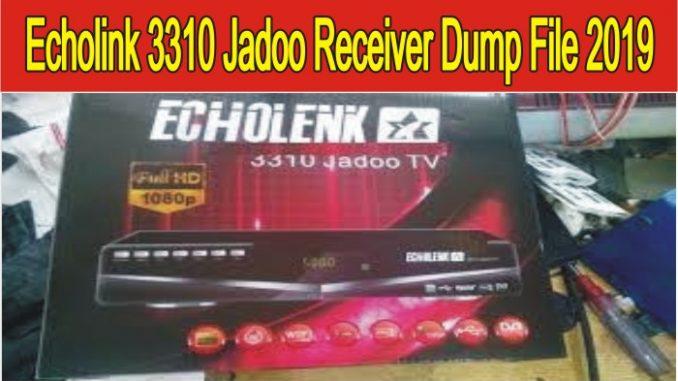 Echolink 3310 Jadoo TV HD Receiver Dump File 2019 PowerVU