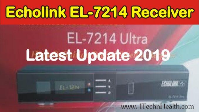 Echolink EL-7214 Ultra HD Receiver New PowerVU Key Software 2019