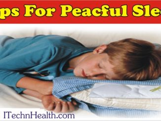 Tips For A Peaceful Sleep