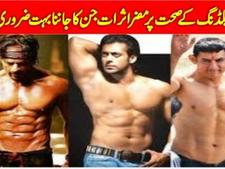 Disadvantages Of Bodybuilding Side Effects In Urdu- Bodybuilding Ke Nuksan