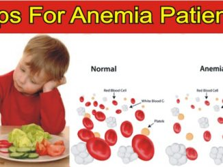 Tips And Treatment For Anemia Patients