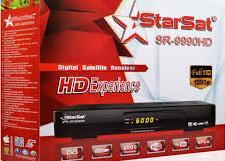StarTrek SR-9990 HD Receiver New PowerVU Key Software