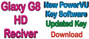 Software Of Galaxy G8 HD Receiver