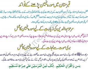 Benefits of Surah Yasin In Ramzan