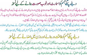 Useful Weight Gain Tips In Urdu
