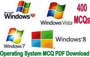 operating system mcq pdf