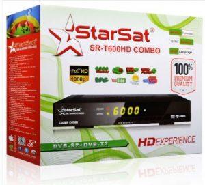 StarSat SR-T600HD Combo Receiver Software