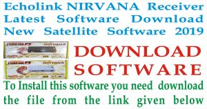 Echolink NIRVANA Receiver Latest Software