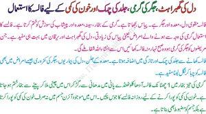 Falsa K Juice K Fawaid