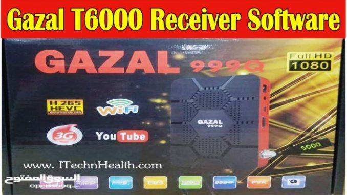GAZAL T6000 Receiver Latest Software