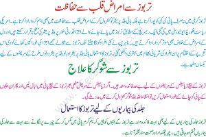 Health Benefits of Tarbooz in Urdu