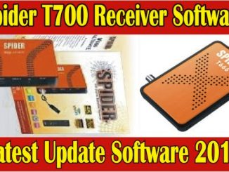 Spider T700 Pro Receiver Latest Software