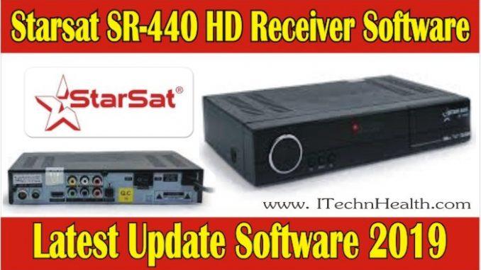 Starsat SR-440HD Receiver Latest Software