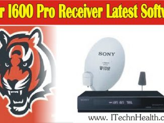 TIGER I600 PRO Receiver Latest Software