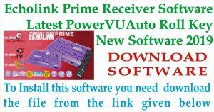 latest software of Echolink Prime Receiver