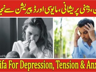 Wazifa For Depression & Tension