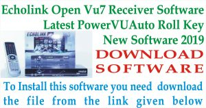 Echolink Open VU 7 Receiver New Software
