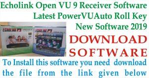 Latest Echolink Open VU 9 Receiver New Software