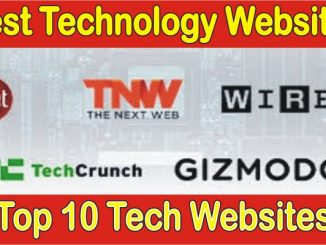 Top 10 Tech Websites
