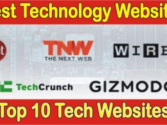 Top 10 Tech Websites