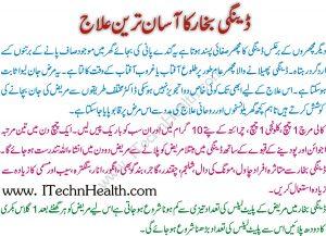 Dengue Ka Desi Ilaj