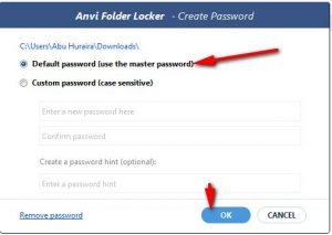 how to lock a folder in windows